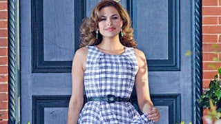 Eva Mendes Gets Glam For a Photo Shoot in NYC, Looks Radiant as a New Mom -- See the Pic!