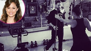 Vanessa Lachey Back in the Gym One Month After Giving Birth to Baby Girl Brooklyn -- See Her Trim-Looking Workout Snap Here!