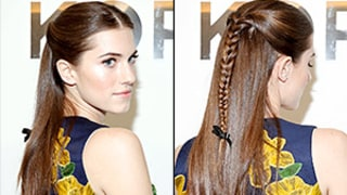 Allison Williams Rocks a Ribboned (But Not Too Sweet!) Braid at Fashion Week: How to Copy Her Hairstyle