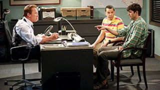 Two and a Half Men Series Finale Kills Off Charlie Sheen's Character -- Again: Watch the Video