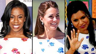 Uzo Aduba Wears the Same Floral Dress as Kate Middleton, Mindy Kaling: Shop It Here!