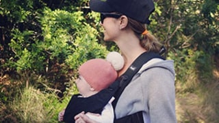 Stacy Keibler Bonds With Baby Girl Ava Grace on Hike, Reveals Her Post-Baby Bod Workout -- See the Adorable Photo!