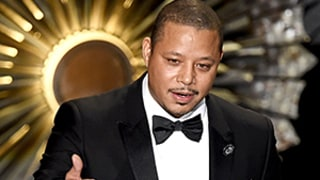 Terrence Howard Gets Emotional in Confusing Oscars 2015 Speech: Video