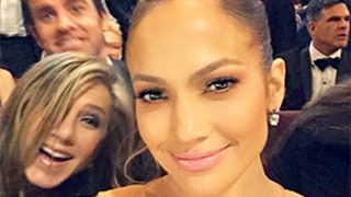 Jennifer Lopez Takes Epic Selfies With Seatmates Jennifer Aniston, Meryl Streep at Oscars 2015: See the Photos