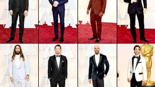 Men in Tuxes at the Oscars!