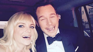 Anna Faris Has Silly Date Night With Husband Chris Pratt at Oscars 2015: