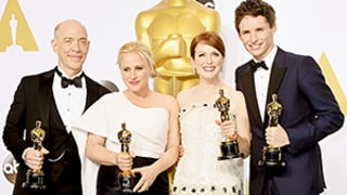 Oscars 2015: Where the Winners Are Keeping Their Statues