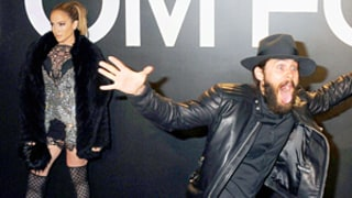 Jared Leto's Wild Antics Get Photobombed by Jennifer Lopez's Fierceness: Funny Picture