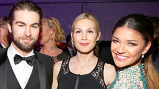 Gossip Girl Stars Reunite Inside Elton John's Oscars 2015 Party: Get the Inside Scoop!