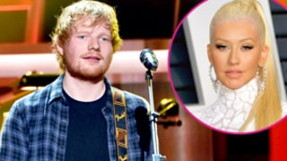 Ed Sheeran Covers Christina Aguilera's