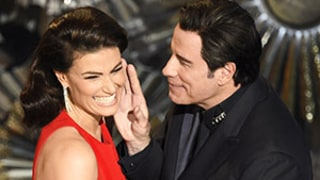 John Travolta's Handsy Idina Menzel Oscars 2015 Touchy-Feely Bit Was Planned, His Rep Says