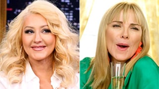Christina Aguilera Does Famed Samantha Jones Impression: