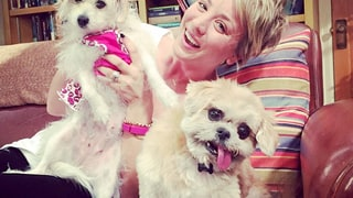 Kaley Cuoco Sweeting and Ruby