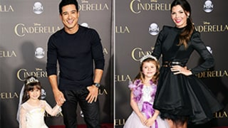 Mario Lopez, Ali Landry, Busy Philipps, Other Stars Tote Cute Kids to Cinderella Premiere: Photos