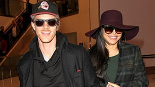 Naya Rivera, Husband Ryan Dorsey Step Out After Pregnancy News: Photo
