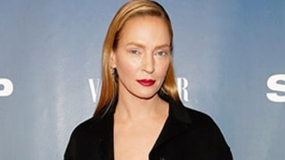 Uma Thurman Explains Why She Rarely Smiles on the Red Carpet