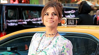 Eva Mendes Reveals Toned Legs in a Short Minidress: See Her Slim Post-Baby Body