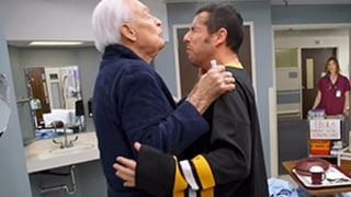 Adam Sandler, Bob Barker Beat Each Other Up, Recreate Happy Gilmore Scene: This Time With Ebola!