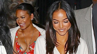 Karrueche Tran Enjoys Girls' Night Out With Christina Milian After Chris Brown Baby Drama: Photos, Details