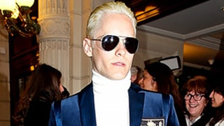 Jared Leto Goes Platinum at the Same Event Kim Kardashian Debuted Her Blonde Hair: See the Dramatic Makeover!