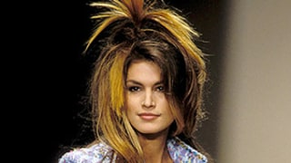 Cindy Crawford Serves Some Fashion Week Realness With This #TBT Runway Photo
