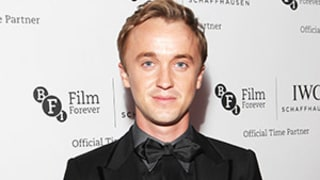 Tom Felton on Kim Kardashian's Platinum Blonde Hair: