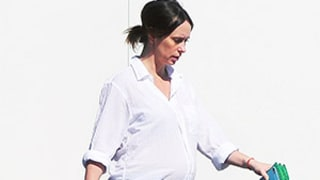 Pregnant Jennifer Love Hewitt Debuts Second Baby Bump -- See Her Chic Maternity Look!