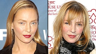 Uma Thurman Adds Bangs to Her Look, Embraces Her Boho Style on the Red Carpet: Photo