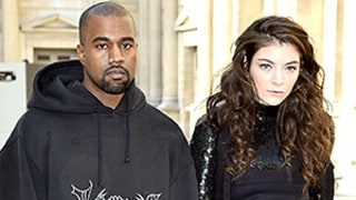Kanye West, Lorde Refuse to Smile at Fashion Week, Must Have Forgotten That They're in Paris: Must-See Video and Photos