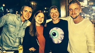 Tom Felton, Rupert Grint, and More Harry Potter Costars Reunite in West Hollywood: Amazing Photo!