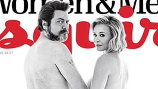 Chelsea Handler Gets Naked With Nick Offerman for the Esquire Cover You Never Knew You Wanted