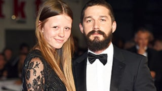 Shia LaBeouf Engaged to Girlfriend Mia Goth? Actress' New Diamond Ring Sparks Rumors