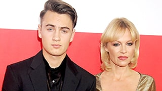 Pamela Anderson Brings Son Brandon Lee to Red Carpet -- And He's All Grown Up and Handsome!