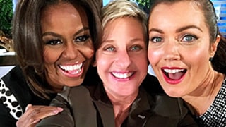 Michelle Obama, Scandal's Bellamy Young Take Epic First Lady Selfie With Ellen DeGeneres: Photo