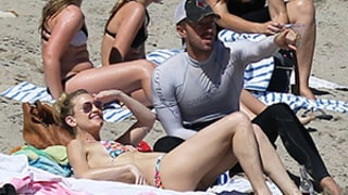 Kate Hudson, Chris Martin Enjoy Beach Day Together With Families: Pictures