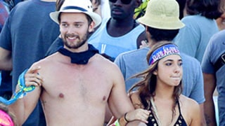 Patrick Schwarzenegger Does Body Shots Off Bikini-Clad Mystery Girl on Spring Break in Cabo: See the Wild Photos