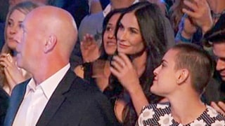 Bruce Willis, Demi Moore Reunite for Rumer Willis' Dancing With the Stars Performance: Pic