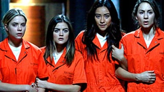 Pretty Little Liars Finale Sneak Peek: Lucy Hale, Liars Are in Orange Jumpsuits! Is Everyone Going to Jail?
