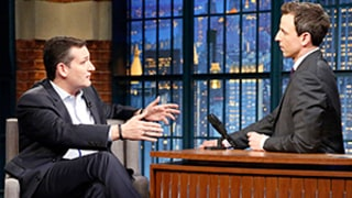 Seth Meyers Takes Senator Ted Cruz to Task Over Gay Marriage, Obamacare on Late Night: Watch