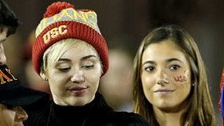 Miley Cyrus Knows Patrick Schwarzenegger's Cabo Girl Because They Attended a USC Football Game Together — See the Pic