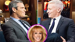 Anderson Cooper Argues With Andy Cohen Over Kathy Griffin's Fashion Police Exit, Doesn't Get Why