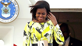 First Lady Michelle Obama Brings Spring Style to Tokyo: See Her Bright, Floral Ensembles!