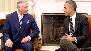 President Obama Tells Prince Charles That Americans Like the Royals More Than U.S. Politicians