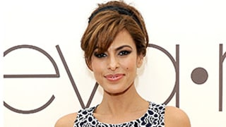 Eva Mendes Relegates Denim to Laundry-Day Fashion: