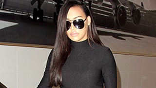 Naya Rivera Offers a Peek of Her Baby Bump in a Tight Black Dress: See Her Edgy Maternity Style