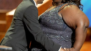 Chris Rock and Gabourey Sidibe