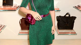 Salma Hayek: Christopher Kane London Store Opening