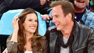 Will Arnett, Alessandra Ambrosio Cozy Up at Basketball Game...Wait, What? See the Pictures