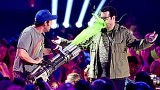 Kids' Choice Awards 2015: Watch a Supercut of Stars Getting Slimed!
