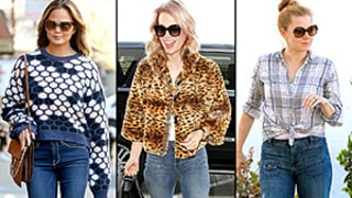 Chrissy Teigen, January Jones, Amy Adams Make Flared Denim Happen Again: Find Out How to Rock the '70s Trend